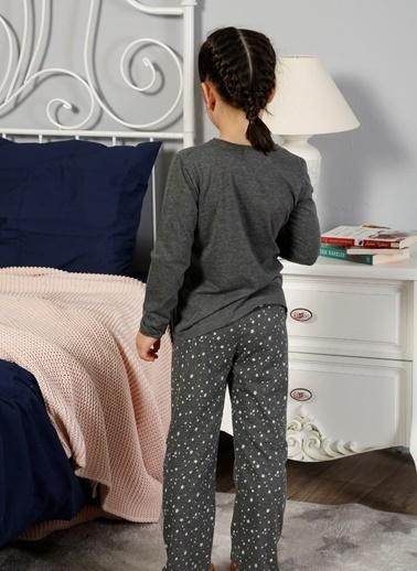 Elitol Pijama Takım Antrasit